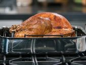 Orange and Maple-Glazed Turkey with Thyme-Shallot Gravy