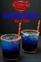The Man of Steel kehrt in Batman V Superman: Dawn of auf den Bildschirm zurück – Cocktail Rezepte