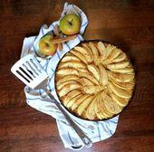 Apple pie low carb with coconut flour