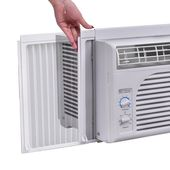 Costway 5 000 Btu 115v Air Conditioner Windowmounted Minicompact With Mechanical Controls You Can Find More Details By Visit Air Conditioner Conditioner Air