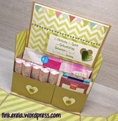 Gourmet-Box mit Anleitung   – stampin up