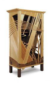 Lattice Cabinet – Reader's Gallery – Edle Holzbearbeitung #Holzbearbeitung #Shakerwoodwo …