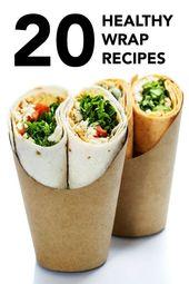 20 Easy Healthy Wrap Recipes