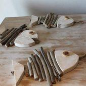 Hier sind 20 Ideen für die Dekoration von Meerholzdekorationen #ba