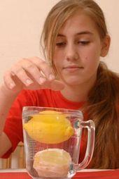 Experimente mit Wasser: Experiment für Kinder: Das Zitronenboot