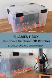 Construir caja de filamentos para impresora 3D   – ordnung