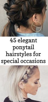 45 elegant ponytail hairstyles for special occasions 3