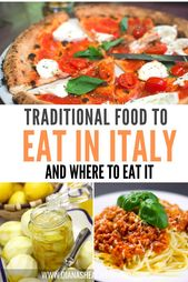 Prime Conventional Italian Meals and The place to Eat It
