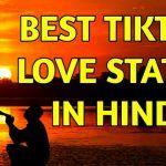 Top 20 Tiktok Love Status Bio In Hindi 2020 Love Status Status Status Hindi