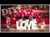 DIY Dollar Tree   Valentine's Day Centerpiece   Flower Box 🌷