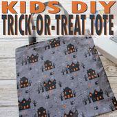 Trick-or-Treat-Tasche: Ein 20-minütiges Kinderhandwerk –