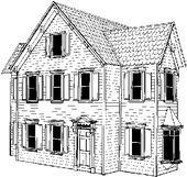 Victorian Doll House The Woodcrafter Page C 2004 Doll House Doll House Plans Miniature Houses
