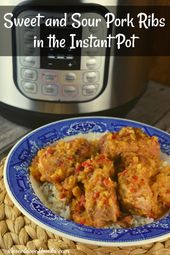 INSTANT POT SWEET AND SOUR PORK SPARERIBS