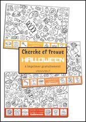Des jeux à imprimer pour Halloween