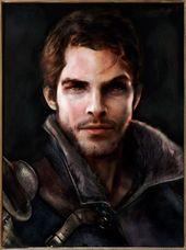 Znalezione obrazy dla zapytania fantasy character portraits male