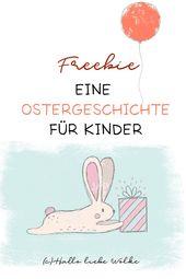 Eine Ostergeschichte für Kinder. #vorlesen #ostern #osterhase #osterei #osterbr…