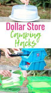 Rapide et facile Dollar Store Camping Hacks   – Camping2019