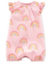 Carter's Baby Girls Cotton Romper & Commentaires – Tous les bébés – Enfants – Macy's   – I worked on this