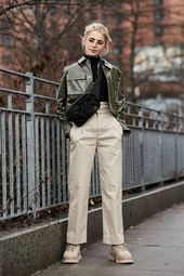 The newest Street Style of the New York Fashion Week …