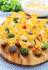 Mini-boules de fromage Queso à 3 ingrédients – Le MEILLEUR apéritif rapide et facile! Rouler …