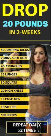 Verlieren Sie 20 Pfund in 2 Wochen-9 Best Weight Loss Workouts
