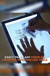 Get Yours Today > LED Artist Tracing Table