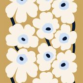 ユニッコファブリックベージュオフホワイトブルー   – Art