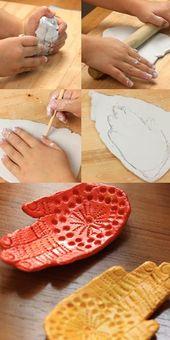 Auf der Suche nach einer Aktivität für Ihr Kind, einem handgefertigten Keramikgeschirr
