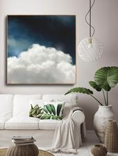 """""""Cumulus V"""" Cloud Painting – CORINNE MELANIE ART"""