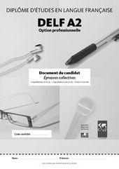 Compréhension De L Oral A2 Exemples De Sujets Delf Pro A2 Ciep Delf Dalf Etc Scoop It