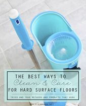 The Finest Strategy to Clear and Look after Laborious Floor Flooring