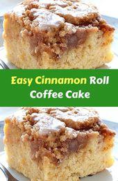 Easy Cinnamon Roll-Kaffeekuchen Easy Cinnamon Roll-Kaffeekuchen ist einfach und schnell … – Cake