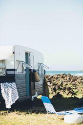 Millie, the vintage caravan – Cedar & Suede –  Millie the vintage caravan – Ce…
