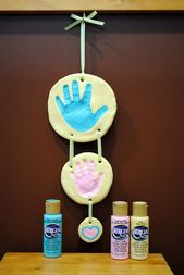 Salt Dough Handprints.
