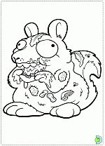 The Trash Pack Coloring Pages Dinokids Org