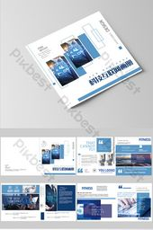 Fresh and simple corporate technology brochure | AI Free Download – Pikbest