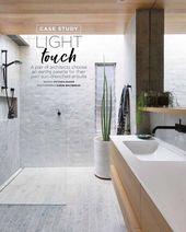 In der Mai-Ausgabe von @insideoutmag finden Sie unser eigenes Badezimmer. Schöne Bilder von @simonwhitbreadphoto #moderndesignbathrooms