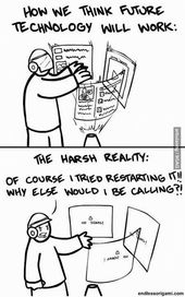 Tech Support Humor | From Funny Technology – Community – Google+ via Tech Net Africa