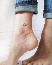 minimalistic poppy – #Anker #Blumen #Brust #Kreuz #Mann #minimalistic