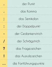 #Satzzeichen im Deutschen – diesmal habe …