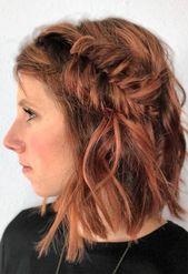 51 Cute Braids for Short Hair: Short Braided Hairstyles for Women