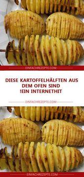 Diese Kartoffelhälften aus dem Ofen sind ein Inte…