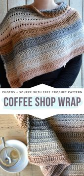 How to Crochet the Coffee Shop Wrap