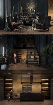 Inneneinrichtung New York Dekor Geld Penthäuser Grundriss Kleines Wohnzimmer