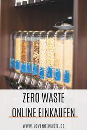 Die besten Zero Waste Online Shops!