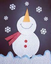 Tipss und Vorlagen: Weihnachtskarten Basteln – Basteln mit Kindern im Winter – Weihnachten