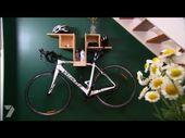 Better Homes and Gardens – DIY: Bike Hanging Shelf…