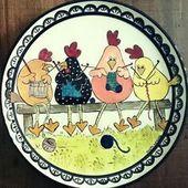 Erfahren Sie Schritt für Schritt, wie Sie auf Geschirr malen ~ cositasconmesh -…   – Keramische Kunst