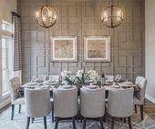Decken Sie den Tisch für ein elegantes Abendessen zu Hause! | Taylor Morrison   – Home: Formal Dining