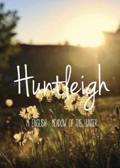 If i were to have a girlHuntleigh beautiful baby girl name! Pronounced: Hunt-Le – namen